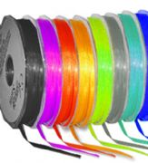 3mm x 50m Double Faced Satin Ribbon 30 Colours